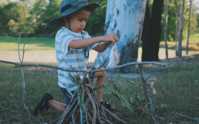 Five Easy Tasks Around the Campsite the Kids Can Help You With
