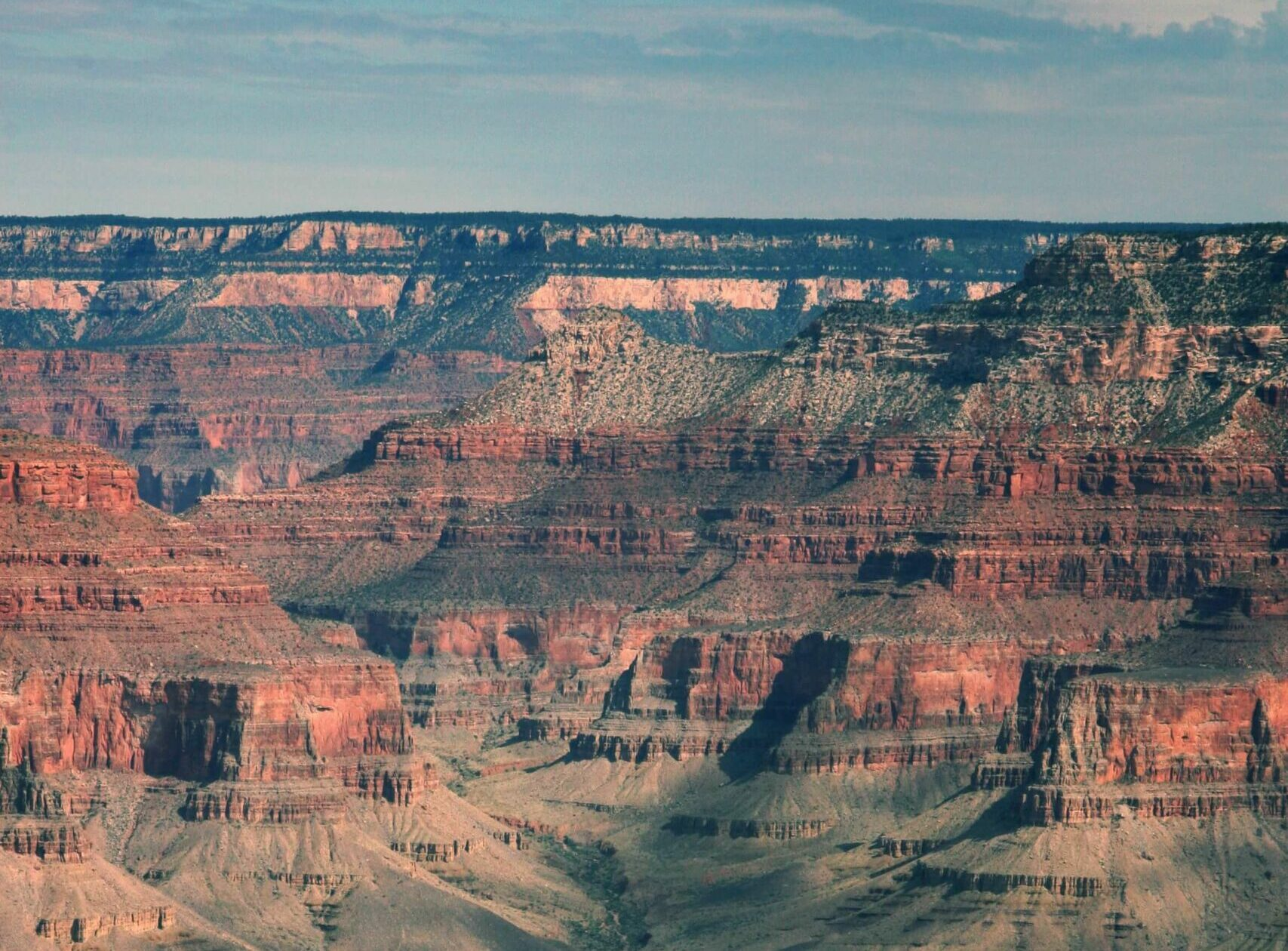 the formation of grand canyon national park