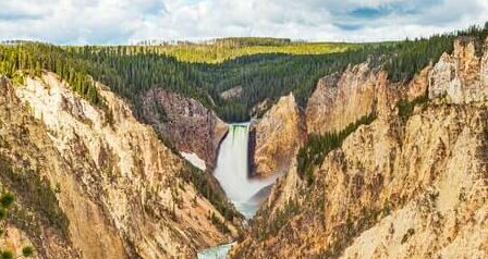 how Yellowstone National Park was formed